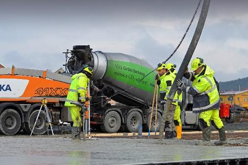 grön betong